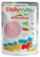 Daily Menu Cat Tuna&Salmon (паучи для кошек с тунцом и лососем от Almo Nature) (39489 )