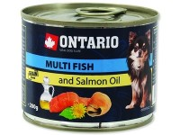 Ontario Mini - Multi Fish and Salmon oil (Онтарио консервы для собак, рыбное ассорти)