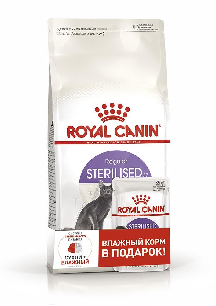 Корм royal canin sterilised 37 спб