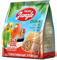 Happy Jungle (Хэппи Джангл Корм для декоративных птиц (69342))
