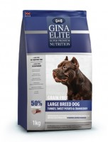 Джина Элит GINA DOG Elite Grain Free Large Dog Turkey,Sweet Potato,Cranberry (Великобритания)