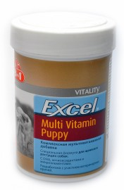 Multi-Vitamin for Puppies. 8 в 1. (мультивитамины для щенков) (99872) - Excel Multi Vitamin Puppy.jpg